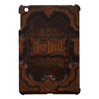 Cubierta antigua de la biblia iPad mini cárcasa