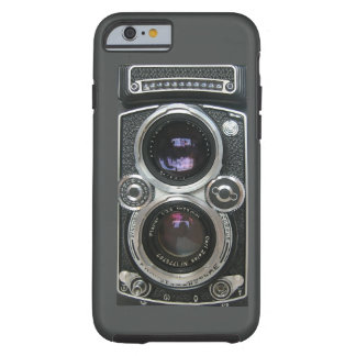 Cubierta antigua de la caja de la cámara del funda de iPhone 6 tough
