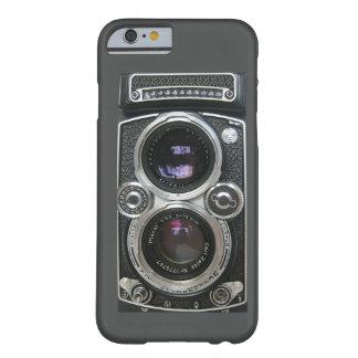 Cubierta antigua de la caja de la cámara del funda de iPhone 6 barely there