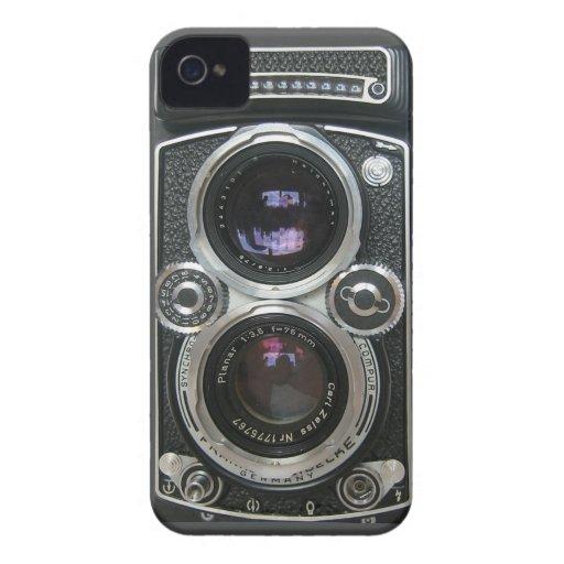 Cubierta antigua de la caja de la cámara del vinta iPhone 4 cárcasa
