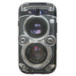 Cubierta antigua de la caja de la cámara del vinta galaxy SIII protector