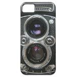 Cubierta antigua de la caja de la cámara del vinta iPhone 5 Case-Mate cobertura