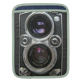 Cubierta antigua de la caja de la cámara del vinta funda para iPads