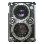 Cubierta antigua de la caja de la cámara del vinta iPad mini cárcasas