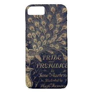 Cubierta antigua de la edición del pavo real del funda iPhone 7