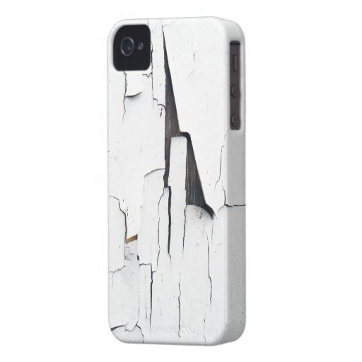 cubierta apenada pintura agrietada del grunge iPhone 4 Case-Mate protectores