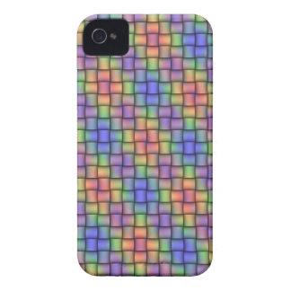 Cubierta Arco iris-Coloreada del teléfono del iPhone 4 Case-Mate Coberturas