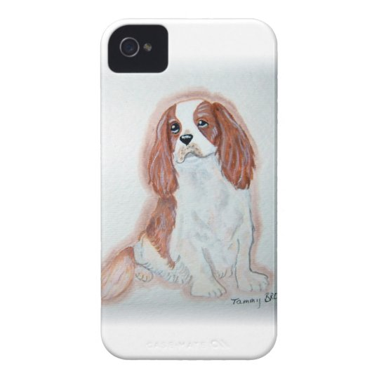 Cubierta arrogante de IPhone 4 del perro de aguas Carcasa Para iPhone 4 De Case-Mate