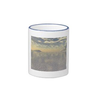 Cubierta ártica taza de dos colores
