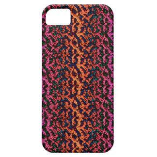 Cubierta artsy enrrollada colorida del iPhone 5 iPhone 5 Carcasa