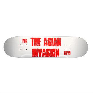 Cubierta asiática skate board
