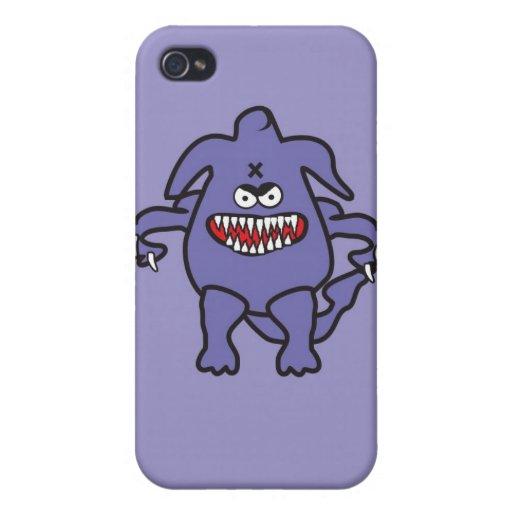 Cubierta asustadiza de IPhone del monstruo iPhone 4/4S Carcasas