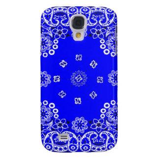 Cubierta azul brillante de la galaxia de Samsung d Funda Para Samsung Galaxy S4