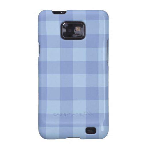 Cubierta azul de la galaxia de Samsung del modelo Samsung Galaxy S2 Fundas