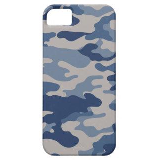 Cubierta azul del iPhone 5 de la casamata de Camo Funda Para iPhone SE/5/5s