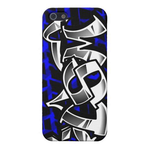 Cubierta azul del iPhone de la garra 4g63 del ecli iPhone 5 Carcasas