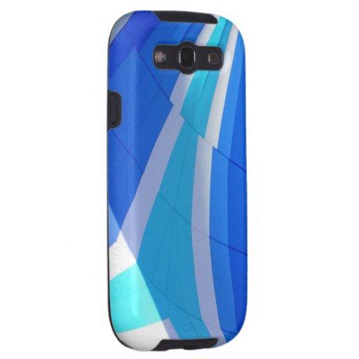 Cubierta azul del teléfono celular de Samsung 3 Galaxy S3 Cobertura