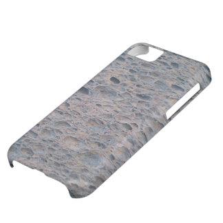 Cubierta azul del teléfono de la esponja