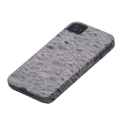 Cubierta azul del teléfono de la esponja iPhone 4 Case-Mate carcasa