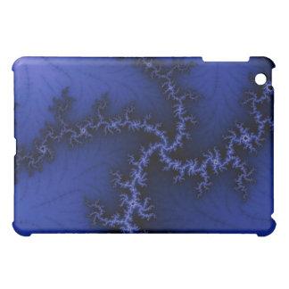 Cubierta azul eléctrica del iPad de Mandelbrot