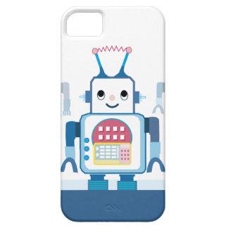 Cubierta azul fresca del caso del iPhone 5 del rob iPhone 5 Case-Mate Fundas