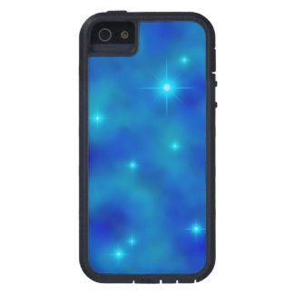 Cubierta azul nublada del iPhone 5/5S de Starfield iPhone 5 Protectores