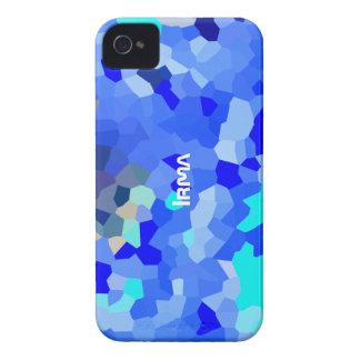 Cubierta azulada del iPhone 4 del tono para Irma Carcasa Para iPhone 4