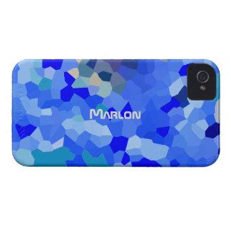 Cubierta azulada del iPhone 4 del tono para Marlon Case-Mate iPhone 4 Cobertura