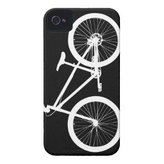 Cubierta blanco y negro del iPhone 4s de la iPhone 4 Case-Mate Cobertura