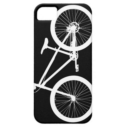 Cubierta blanco y negro del iPhone 5s de la iPhone 5 Carcasa
