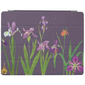 Cubierta botánica floral de Ipad de las flores del Cover De iPad