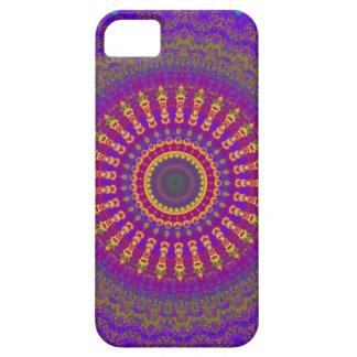 Cubierta brillante del iPhone 5 de la mandala de l iPhone 5 Case-Mate Protectores