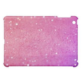 Cubierta brillante reluciente femenina del iPad de