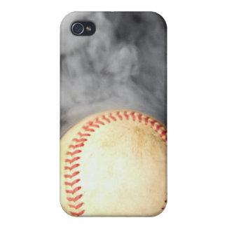 Cubierta caliente del béisbol para el iPhone 4/4S iPhone 4 Carcasa