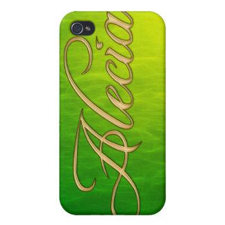 Cubierta calificada conocida del iPhone de ALECIA iPhone 4 Carcasas