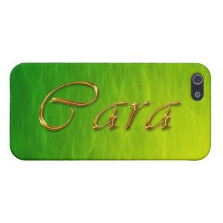 Cubierta calificada conocida del iPhone de CARA iPhone 5 Carcasa