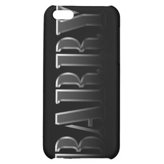 Cubierta calificada nombre del iPhone de BARRY