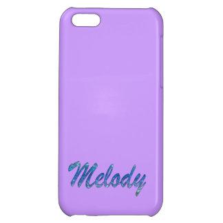 Cubierta calificada nombre del iPhone de la melodí