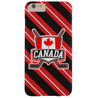 Cubierta canadiense del teléfono del logotipo del funda de iPhone 6 plus barely there