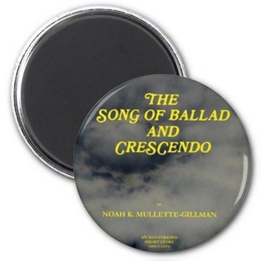 cubierta - canción de la balada y del crescendo iman