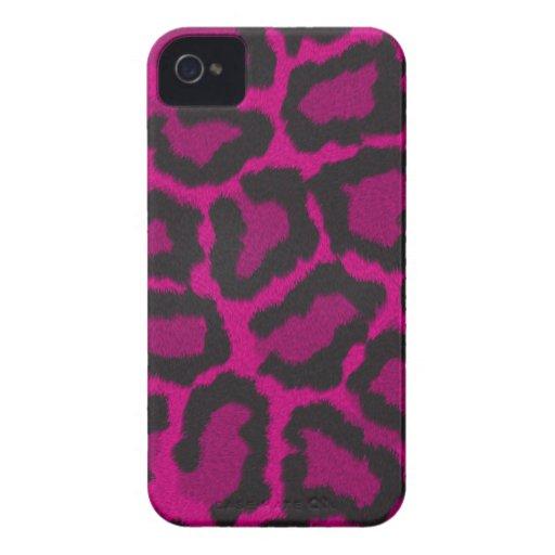 Cubierta/caso del estampado de animales de la Case-Mate iPhone 4 cárcasa