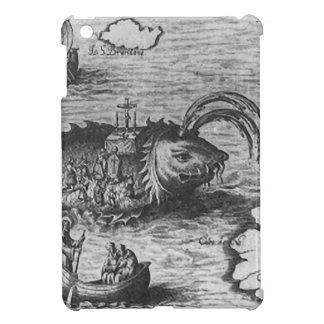 Cubierta/caso del iPad del monstruo de mar/de la c