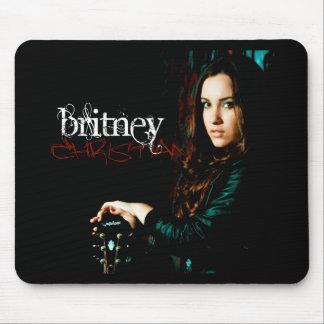 Cubierta CD cristiana de Britney Tapete De Ratón