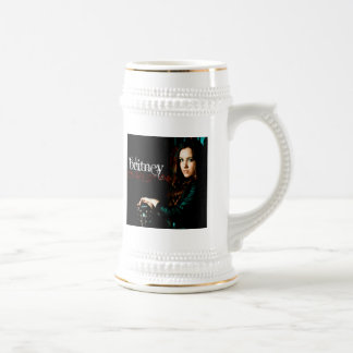 Cubierta CD cristiana de Britney Tazas De Café