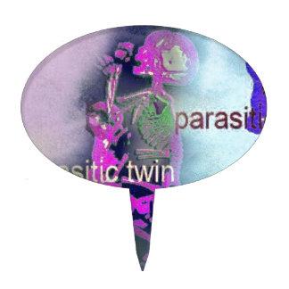 Cubierta CD parásita. (púrpura) Figura Para Tarta