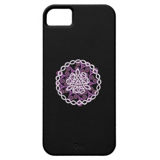 Cubierta céltica de la caja del teléfono del diseñ iPhone 5 Case-Mate cobertura