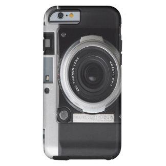 Cubierta clásica de la caja de la cámara del funda de iPhone 6 tough