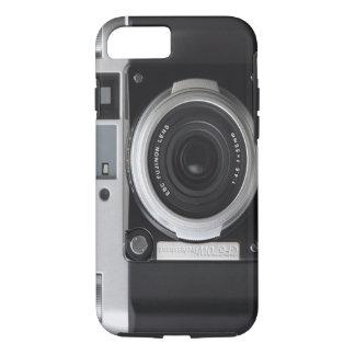 Cubierta clásica de la caja de la cámara del funda iPhone 7