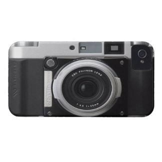 Cubierta clásica de la caja de la cámara del vinta iPhone 4 funda