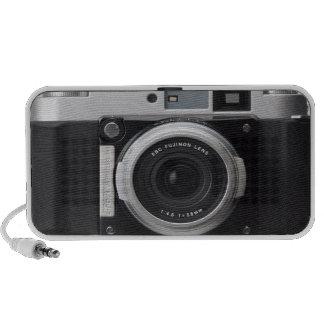Cubierta clásica de la caja de la cámara del vinta laptop altavoz